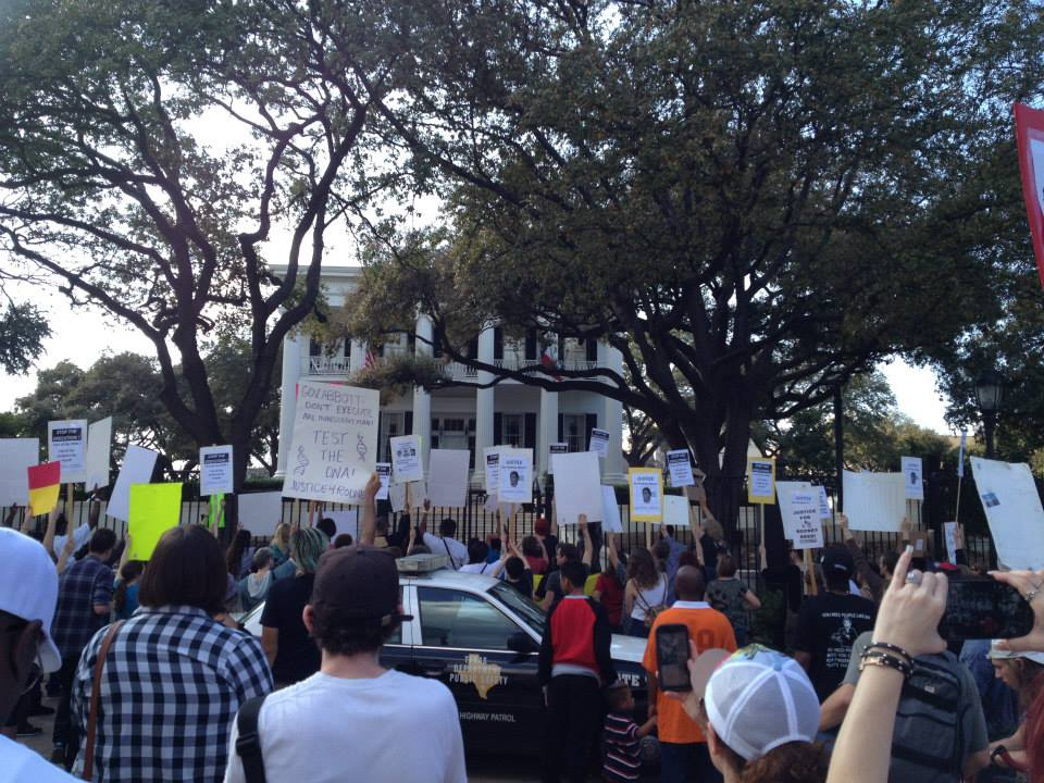 Picture of 2015 Rally at Governor's Mansion