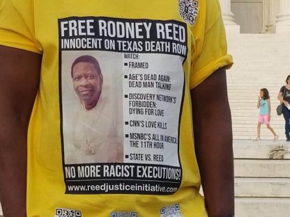 Free Rodney Reed Innocent on TX death row tee